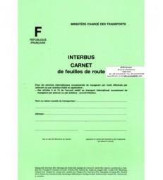 Carnet de feuilles de route INTERBUS