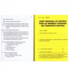 Livret individuel de contrôle Voyageurs Format 15 x 1130