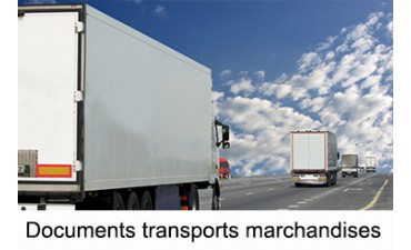 Documents transports marchandises